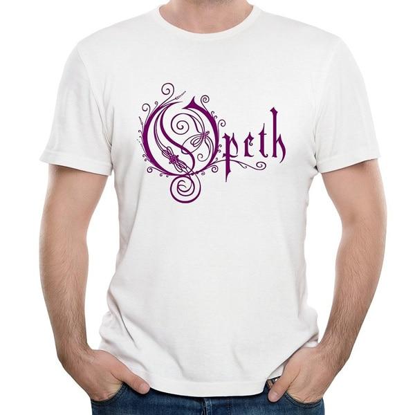 Camiseta de moda para hombre, Camisa de algodón de banda Opeth, Mikael,...