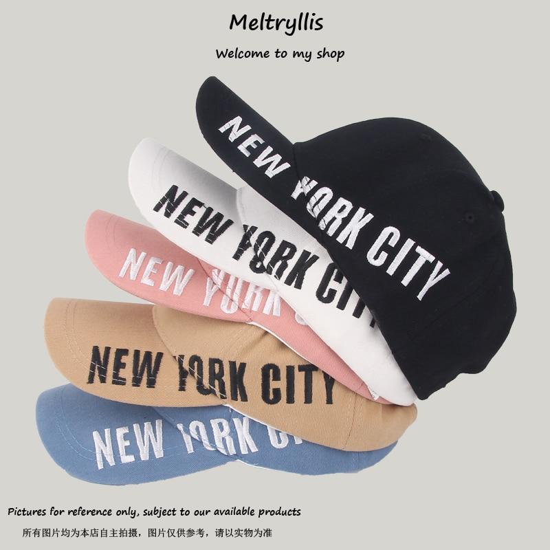[Meltryllis] Unisex Letters Embroidery Cotton Baseball Cap Men Women Outdoor Casual Good Quality Dad Hat Snapback Hip Hop Hats
