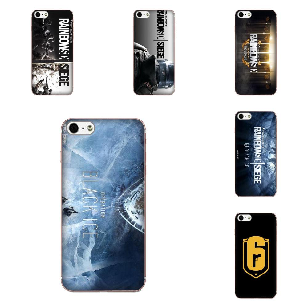 Rainbow Six Siege Operation Black Ice For Galaxy Note 10 A10E A10S A20S A30S A40S A50S A6S A70S A730 A8S M10S M30S Lite Plus