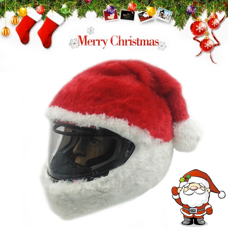 17 Kinds Christmas Dress Up Motorcycle Helmet Cover Accessories Full Face Helmets Casco Moto Cascos Para Capacete enlarge