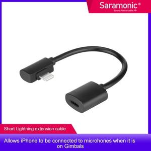 Saramonic DITC80 Lightning Female to Male Output Cable Designed for Smartphone Gimbles