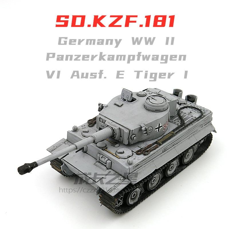 Modelo de tanque de tigre prefabricado de Alemania 1/72 ww2, modelos M1A2 Merkava Leopard 2A5, tanque de montaje, modo World of Tanks, juguetes militares
