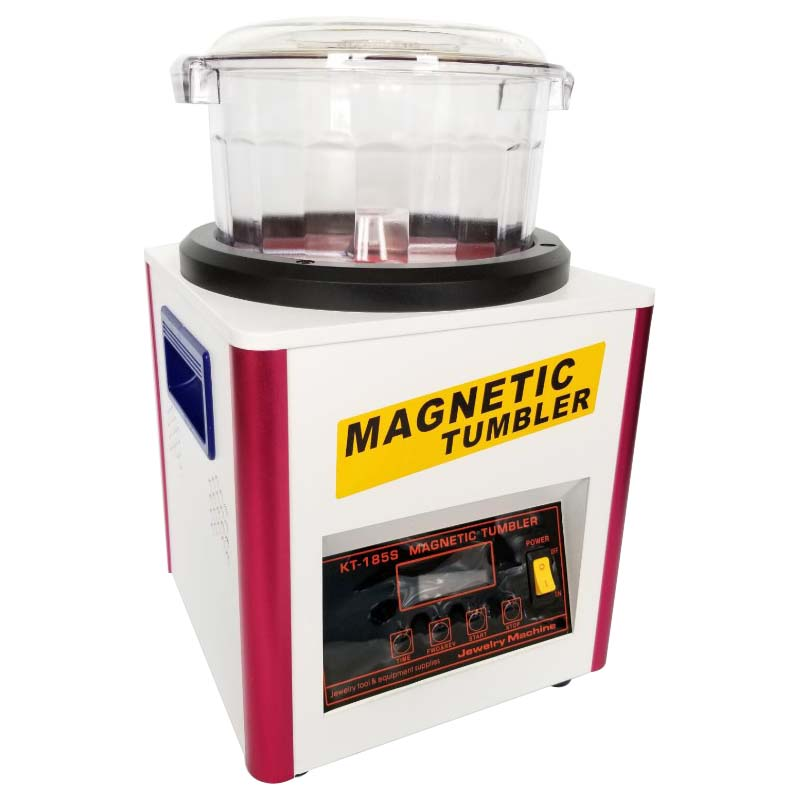 Jewelry Tools Magnetic Drum Polishing Machine Jewelry Cheap Magnetic Tumbler  - buy with discount
