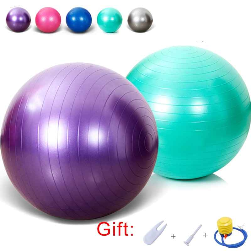 Anti-Burst Yoga Ball Chair Home Exercise Pilates Fitness Balance Outdoor Sports Health Training 5 Colors
