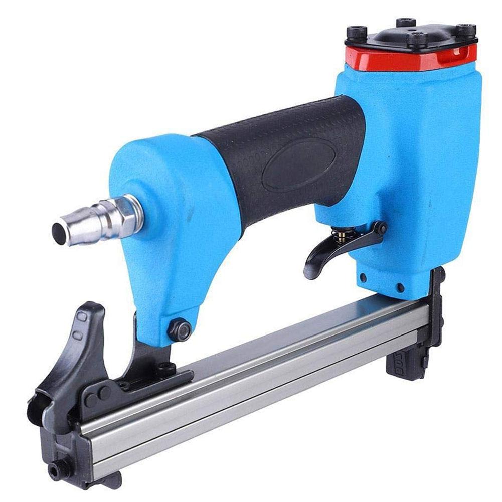 1013J 10-30mm Pneumatic Air Pin Nailer Air Stapler For Grain Nail Using Hard Handing Cartridge ail Power Tool for Woodworking