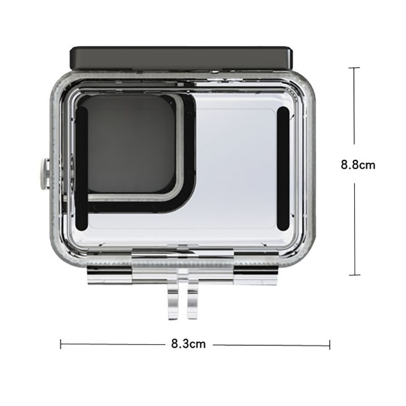 Underwater 50M Waterproof Shell for Gopro9 Housing Case Go Pro Hero 9 Camera Accessories Diving Protective