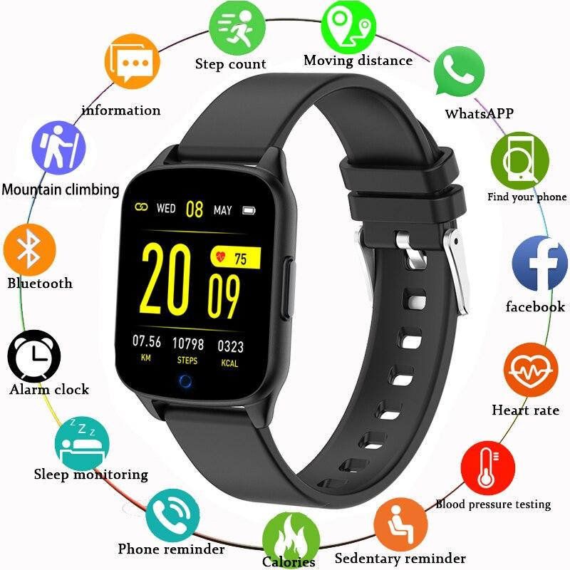 BANGWEI reloj inteligente Correa 22 MM pulsera de silicona impermeable con Negro Azul Rojo gris verde para BW0040 BW0051 BW0060