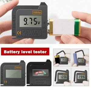 Battery Tester Capacity Tester High-precision Battery Power Tester Battery Capacity Tester For AA  9V 1.5V Button Cell Battery