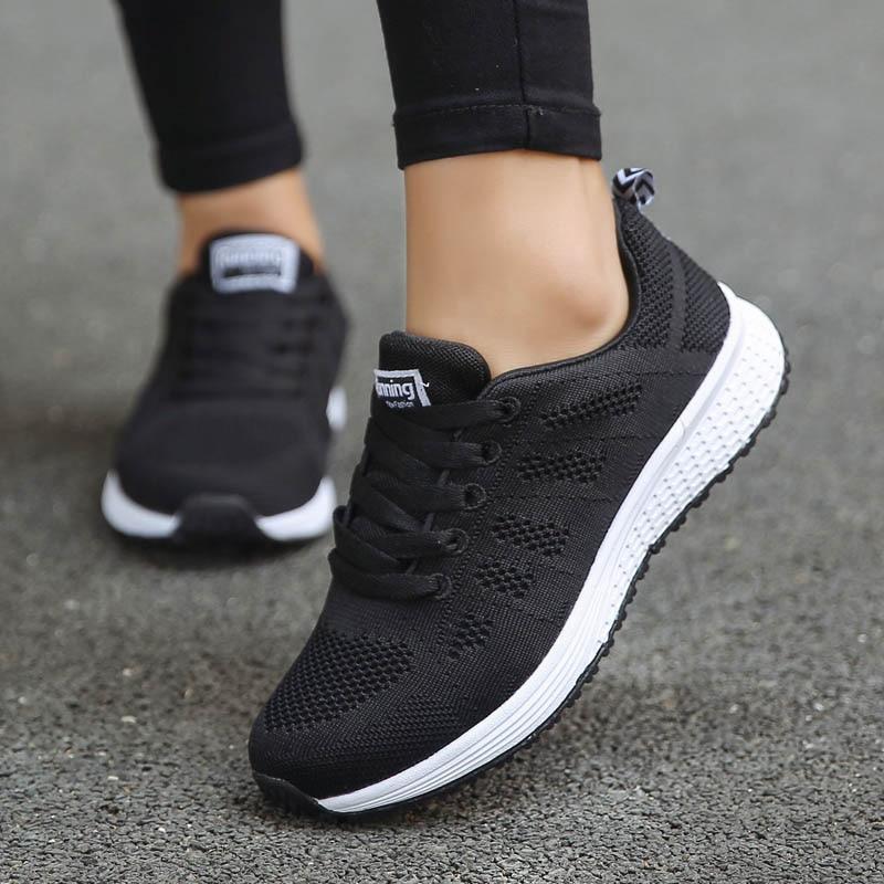 Shoes Woman Sneakers Casual Platform Trainers Women Shoe White Tenis Feminino Zapatos de Mujer Zapat