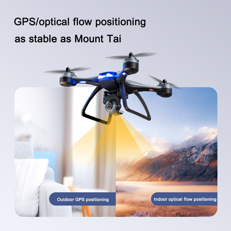 2021 New GPS Drone  4K 1080P HD Camera Professional Quadcopter WiFi Fpv Air Pressure Altitude Hold RC Dron Toys GIft enlarge