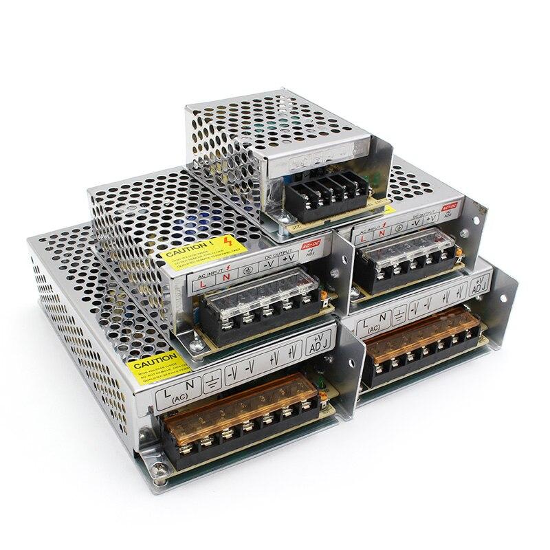 Lighting Transformers,DC 5V 12V 24V 36V Power Supply Adapter,5 12 24 36 V 1A 2A 3A 5A 6A 8A 10A 15A