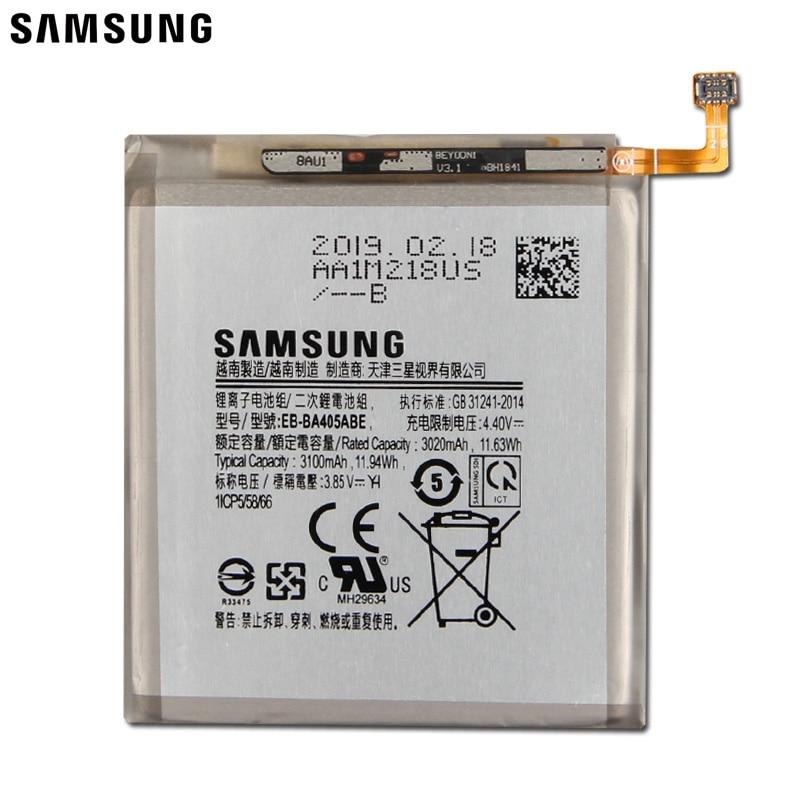 Samsung Original Replacement Tablet Battery EB-BA405ABE EB-BA405ABU For Samsung GALAXY A40 A405F 3100mAh enlarge