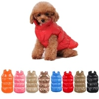 autumn winter pet clothes dogs thicken warm puppy cats coats waterproof dog jacket chihuahua pug french bulldog vest clothing