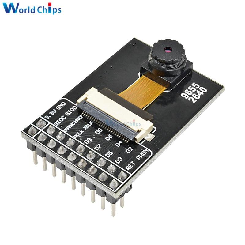 diymore OV9655 Camera Module Board Webcam Module CMOS SXGA 1.3 MegaPixel CameraChip Module Development Kit for Arduino