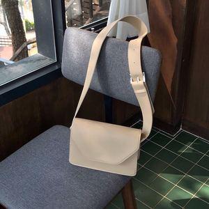 2020 New Small Square Bag Leisure Messenger Bag Wide Shoulder Strap Single Shoulder Bag
