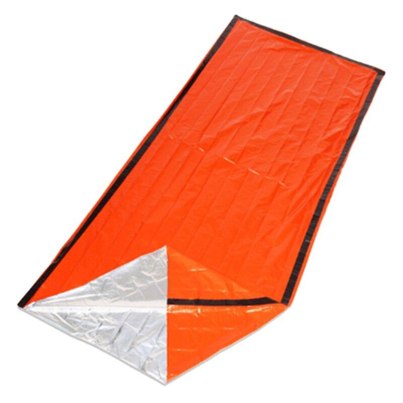 Emergency Sleeping Bag,Survival Bag,Emergency Blanket Lightweight Reflective Lining Thermal Sleeping Bag Survival Gear Kit for O