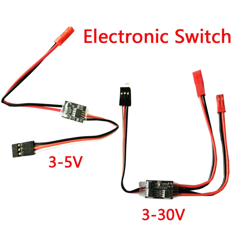 2-20A High Current Remote Control Electronic Switch 3-30V Aerial Model Plant Protection RC Drone Water Pump PWM Signal Control