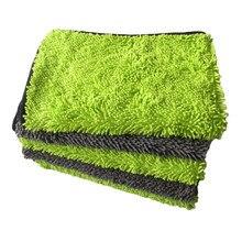 40*60 шенилле полотенце из микрофибры Автомойка Ткань автомобильные инструменты для детализации чистящее сушильное полотенце с толстым полированным полотенцем товары для ухода за автомобилем