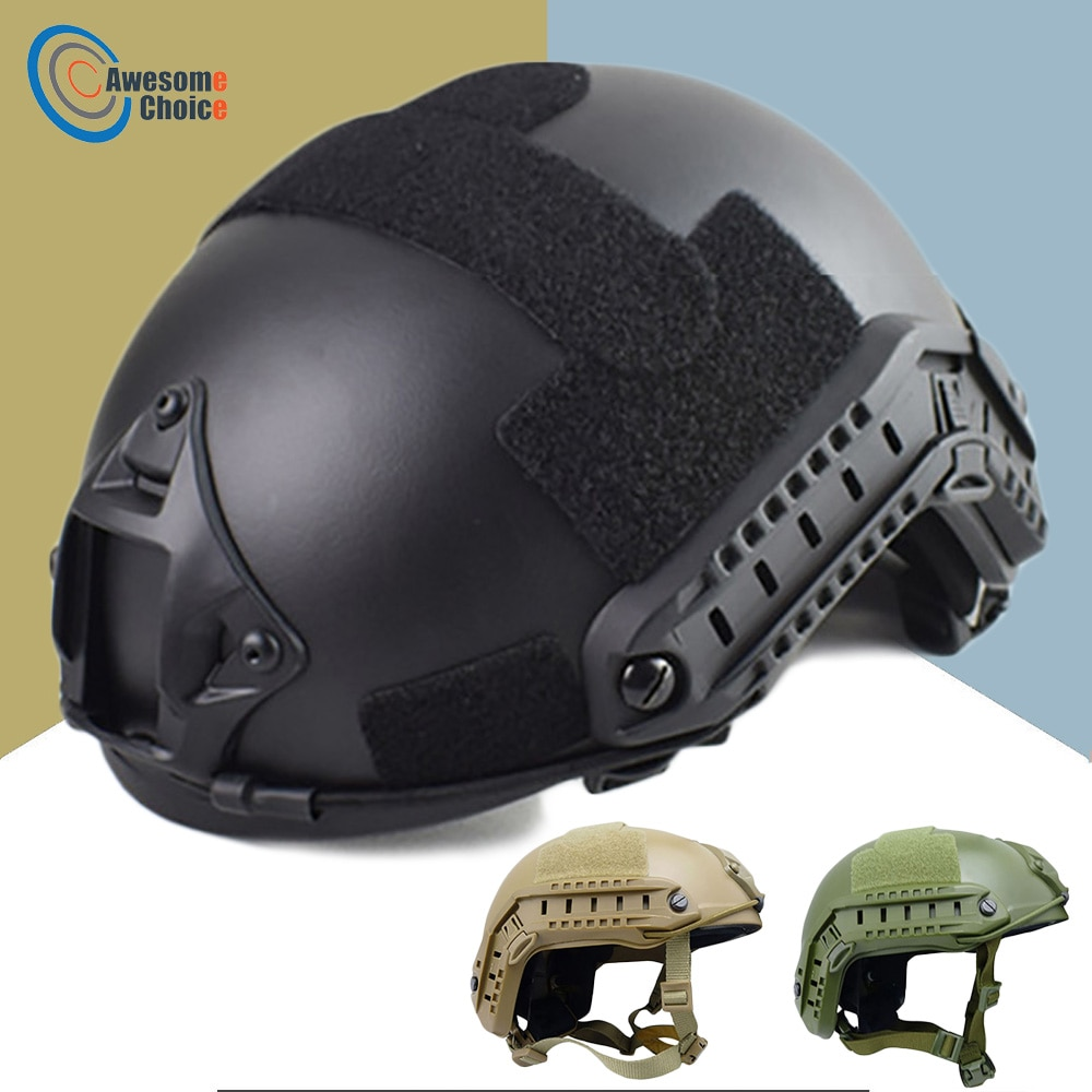 Quality Military Tactical Helmet Fast PJ Cover Casco Airsoft Helmet Sports Accessories Paintball Fast Jumping Protective airsoft paintball tactical helmet protective fast helmet abs tactical mask with goggles cs equipment