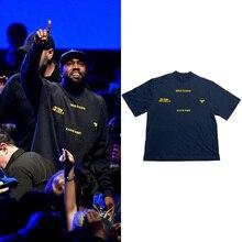 Été Kanye West t-shirt femmes jésus est roi 11 t-shirts à manches courtes Harajuku 100% coton hommes t-shirts urbain-vêtements