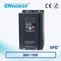 wk600 vector control frequency converter three phase variable frequency inverter 380v 11kw ac motor speed controller