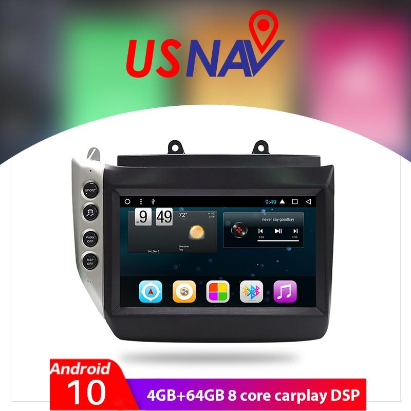 USNAV for Maserati GT/GC GranTurismo 2007 - 2017 Android 10 8 CORE Car Multimedia Stereo GPS navigation autoradio DVD CarPlay