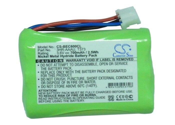 Cameron Sino 700mAh batterie pour Bang & Olufsen BeoCom 6000, 3HR-AAAU 70AAAH3BMXZ T373