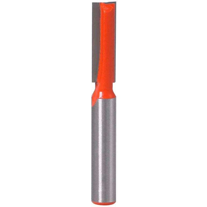 8mm haste inferior limpeza roteador bit gravura fresa cortador em linha reta trimmer 448a