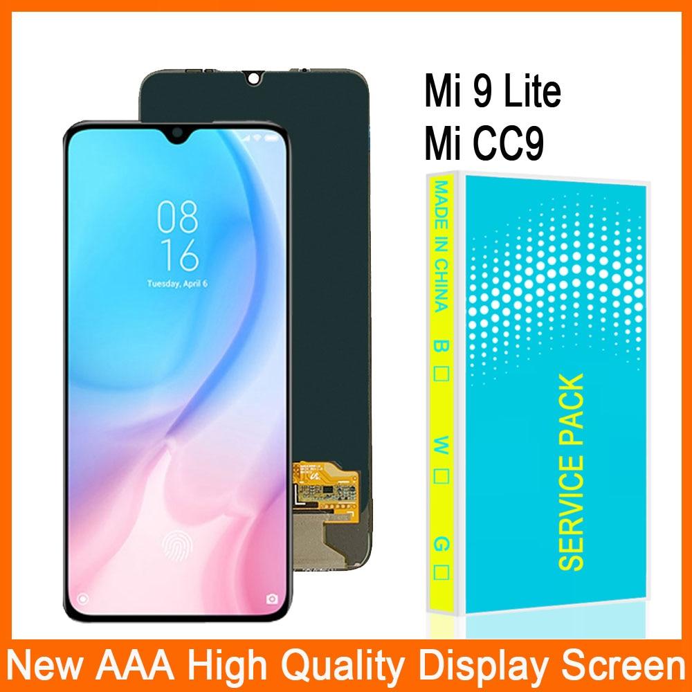 Pantalla táctil LCD de 6,39 pulgadas para Xiaomi Mi 9 Lite, montaje de digitalizador, pantalla LCD para Xiaomi Mi CC9, reemplazo de pantalla