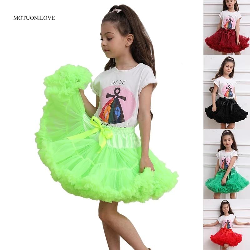 Flower Girls Dresses Underskirt Petticoat Cosplay Party Short Dress Lolita Petticoat Ballet Tutu Skirt Rockabilly Kids Crinoline