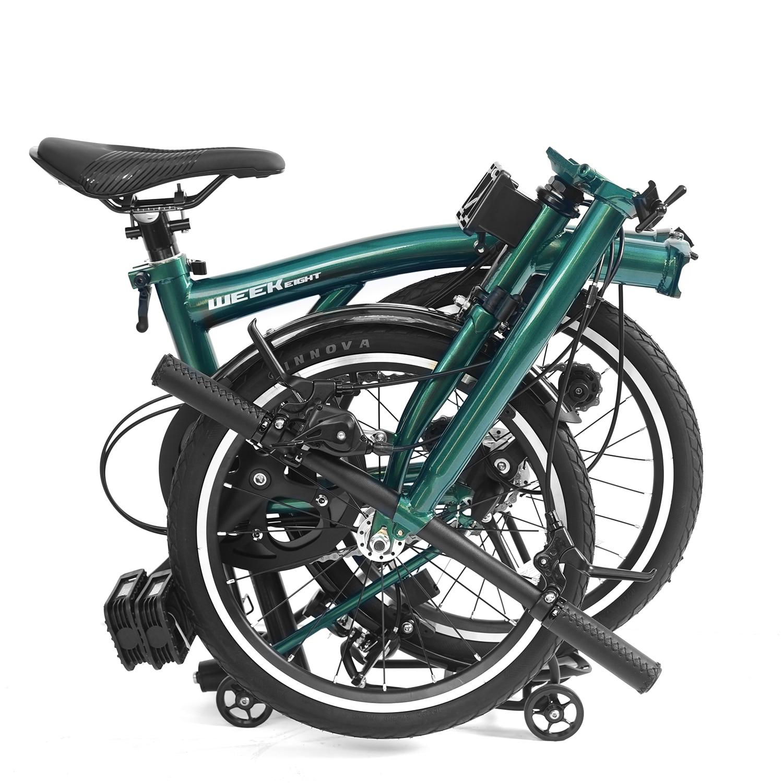 دراجة قابلة للطي دراجة قابلة للطي 16 بوصة مصنوعة من 3 سرعات S مقبض الكروم الموليبدينوم الصلب الداخلي 3 سرعات إطار فولاذي