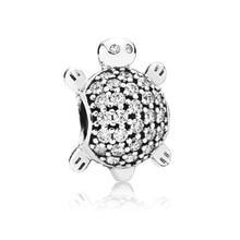 Cocu cristal perles ajustement Original Pandora Bracelet mer tortue tortue breloques perle femmes bijoux faisant des accessoires 2020 cadeaux