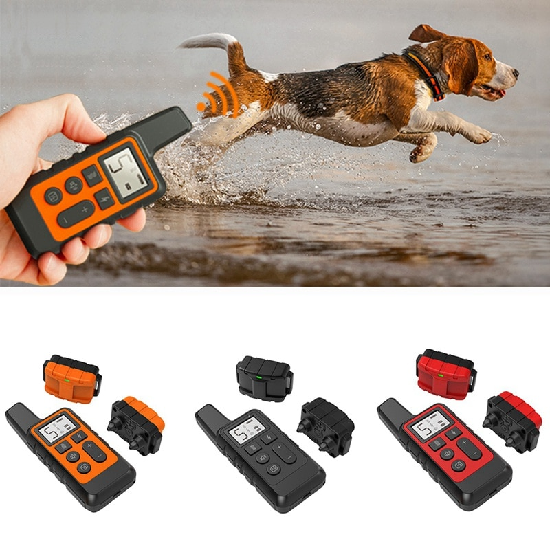 جهاز نباح الكلاب ، طوق صدمة كهربائية لتدريب الكلاب ، معدات خفة الحركة بالموجات فوق الصوتية ، عن بعد ، الراعي الألماني