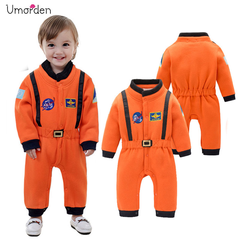 Umorden Astronaut Costume Space Suit Rompers for Baby Boys Toddler Infant Halloween Christmas Birthd