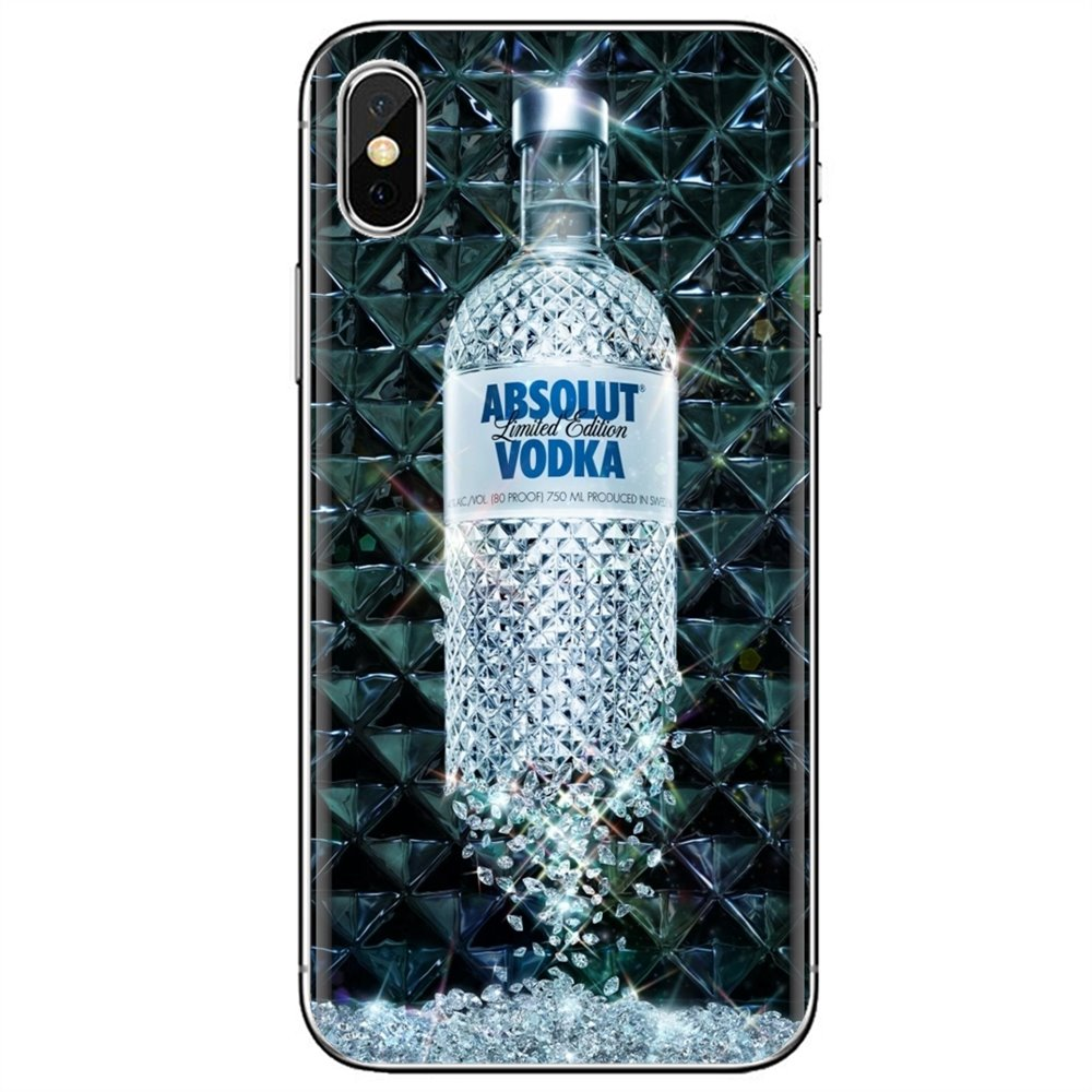 Para Samsung Galaxy S6 borde S10 Lite Plus Core gran primer alfa J1 mini absoluta botella de Vodka carcasa de silicona para teléfono móvil cubierta