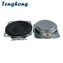 Tenghong 2pcs 40MM Ultra Thin Full Range Speakers 16 Core 4Ohm 8Ohm 3W Portable Audio Speaker Neodymium Magnet For Home Theater