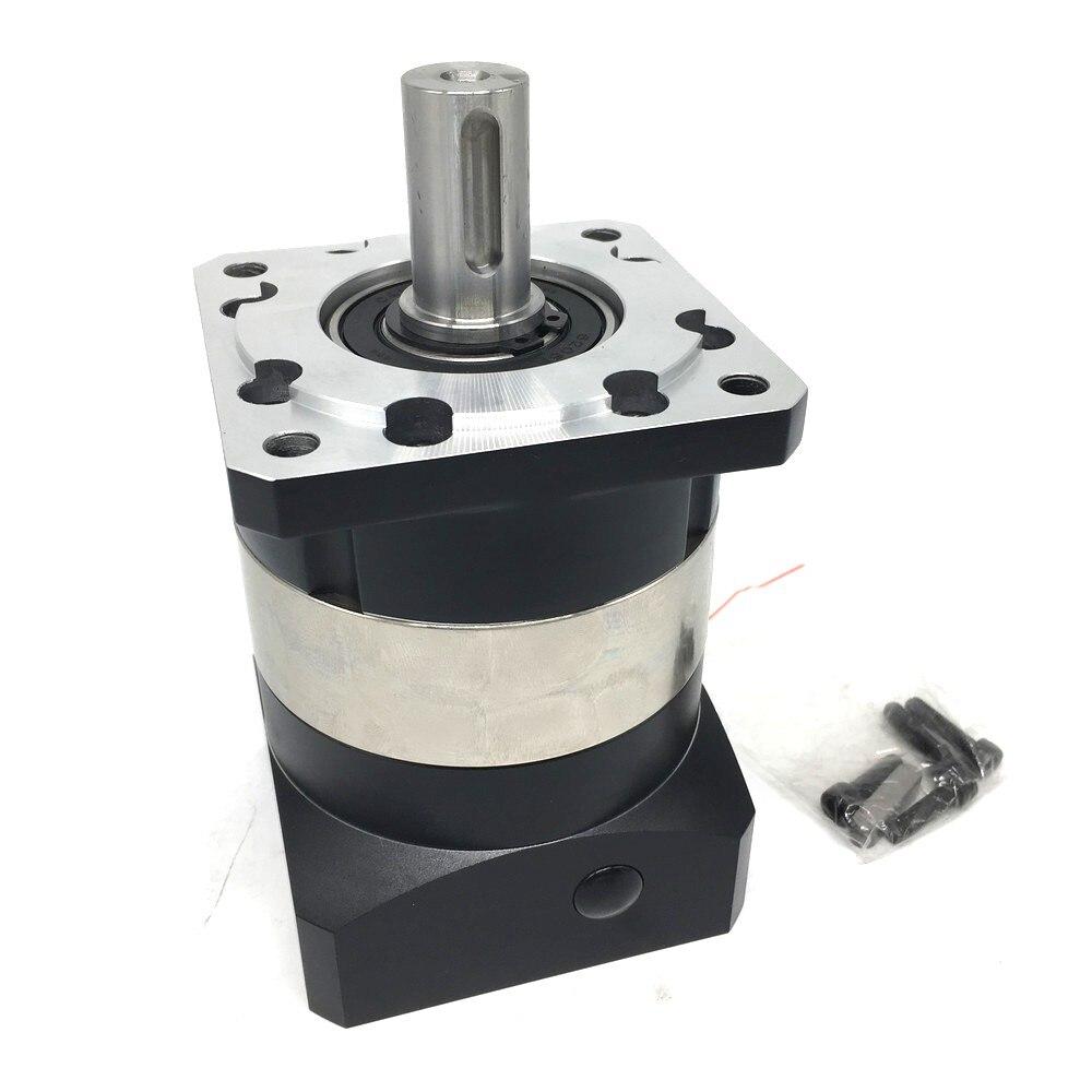 Caja de cambios de alta precisión 4000rpm 51 velocidad Ratio5 reductor planetario 7Arcmin 5mm Shaf de entrada para Nema17 42mm brida motor paso a paso