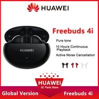 Глобальная версия HUAWEI FreeBuds 4i Bluetooth наушники-вкладыши TWS с беспроводной активного шумоподавления чистый звук беспроводные наушники