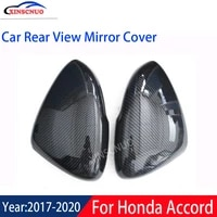 xinscnuo car rear view mirror cover 1 pair for honda accord 10th 2017 2018 2019 mirror covers caps replacement