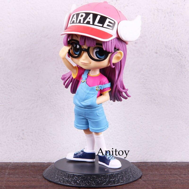 Juguete de la colección Anime Dr. Sllump Qposket Arale figura de decoración muñeca para niños Anime Arale figura de acción PVC modelo coleccionable juguete