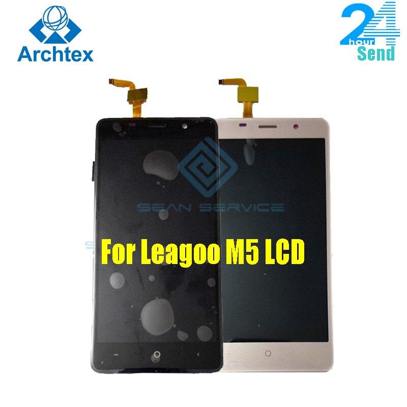 Para Leagoo M5 LCD pantalla táctil teléfono digitalizador ensamblaje probado 5,0 pulgadas 1280x720P envío gratis Stock