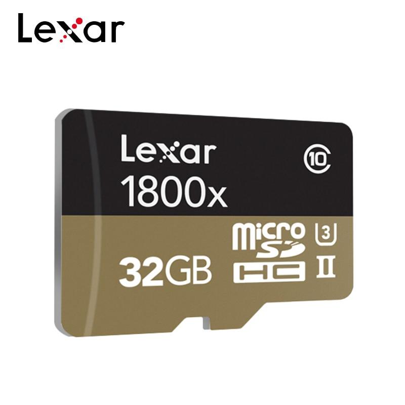 Lexar 1800x Memory Card 32GB Lexar Professional Micro SD Card Class10 UHS-II U3 SDHC SDXC High Speed up to 270MB/s TF Cards