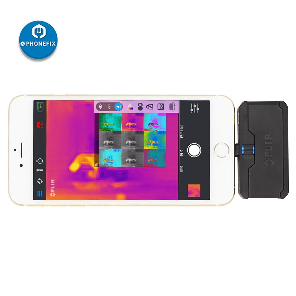 Câmera térmica infravermelha da detecção de falhas do pwb do reparo do iphone câmera térmica para android e ios