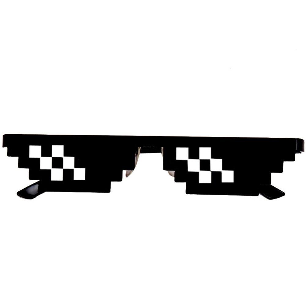 Фото - Забавные фокусы очки Thug Life 8 Bit Pixel Deal With IT солнцезащитные очки унисекс солнцезащитные очки игрушка для детей и взрослых забавные игрушки солнцезащитные очки pixel crew deal with it