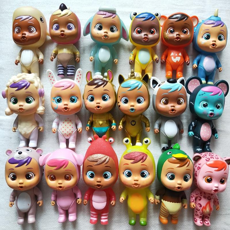 Rare Halloween Baby Dolls Cry Baby Debby/Buzzy/Pinchie/Tina/Kina/Puppi/Lemu/Coney/Kori/ it will shed tears kids Toys Best Gifts