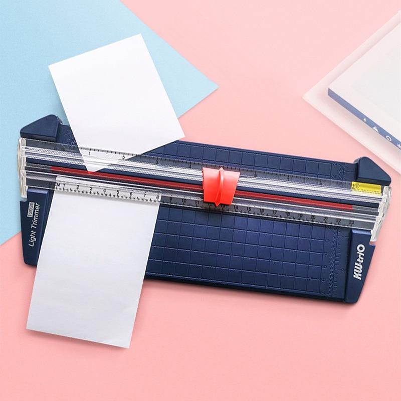 قاطعة ورق A4 ، قاطعة دوارة محمولة ، DIY ، سكرابوكينغ للصور ، حصيرة تقطيع الورق ، آلة عمل الورق ، لوازم المكاتب