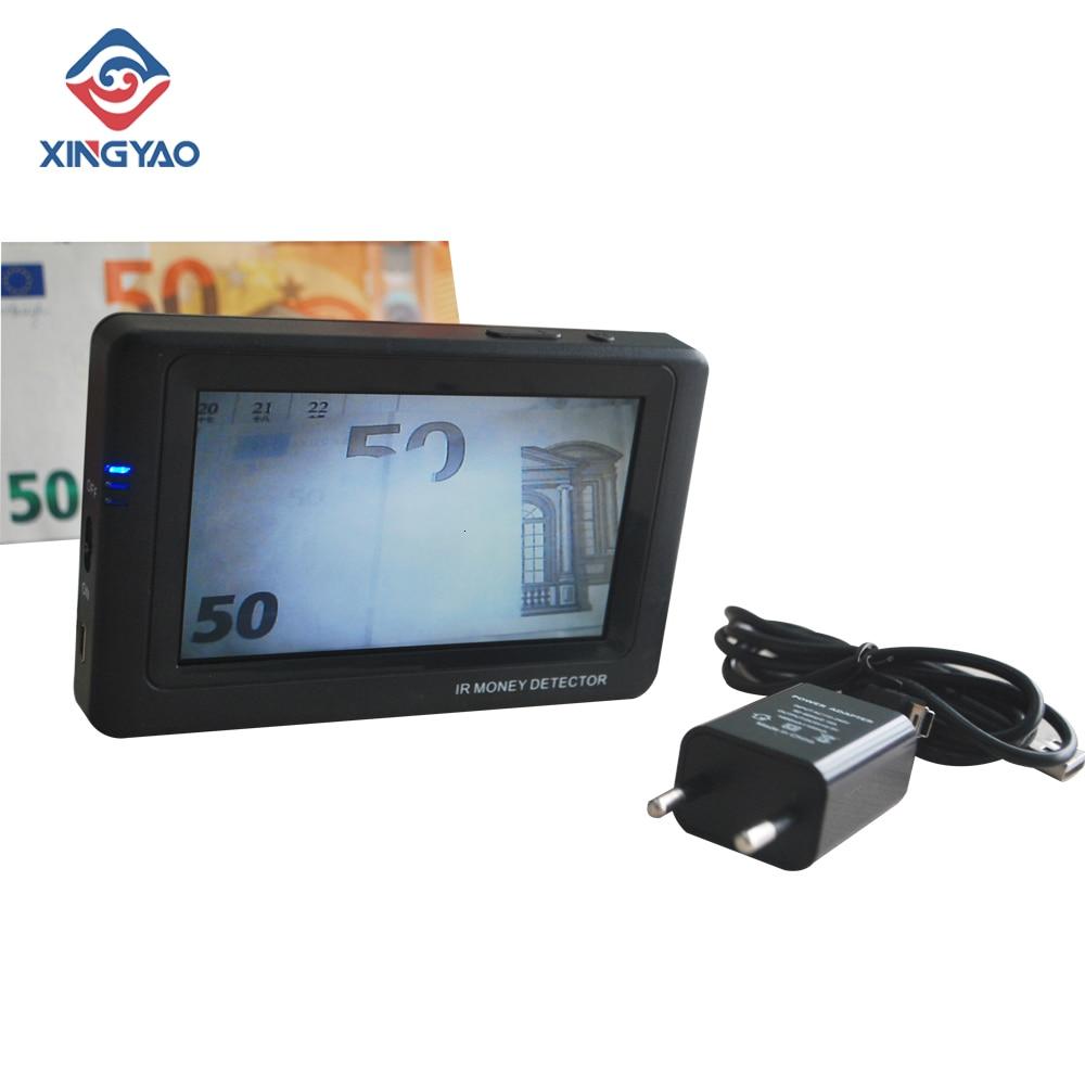 الأشعة تحت الحمراء كاميرا تعمل بالأشعة تحت الحمراء للكشف عن المال المحمولة العملات النقدية للكشف عن الأوراق النقدية المصغرة