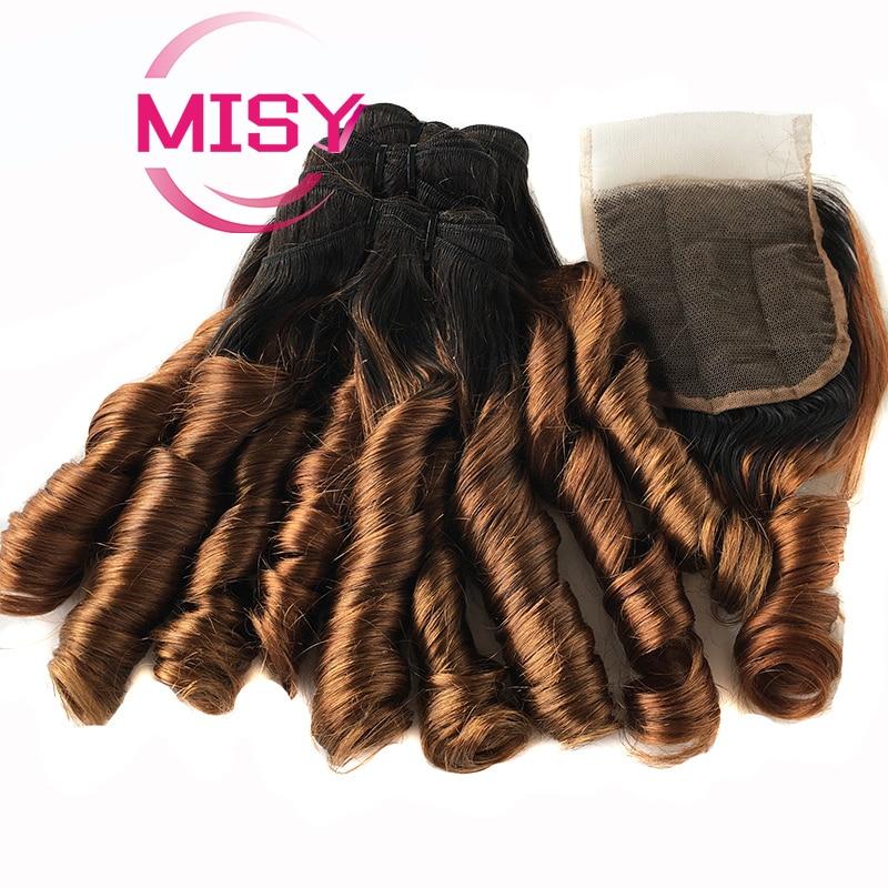 Бразильские волосы, свободные волнистые, 4 пряди с застежкой, цветные человеческие волосы Омбре пряди с застежкой, человеческие волосы для н...