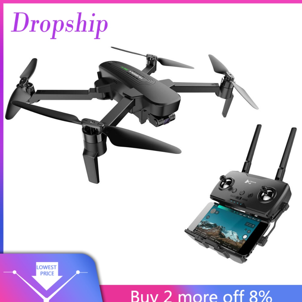 Hubsan ZINO PRO GPS 5G WiFi 4KM FPV con 4K UHD Cámara 3 ejes cardán esfera Drone Quadcopter niños mando a distancia # G20