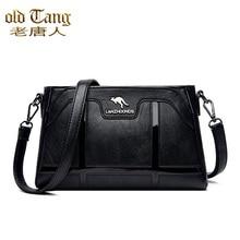 OLD TANG Female Messenger Bag Pu Leather Luxury Hand Bags For Women 2020 Designer Casual Shoulder Ba